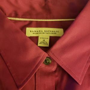 5 Button Down Non Iron Tailored Dress Shirts